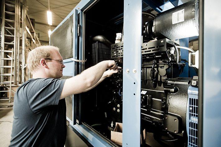 Netzersatzaggregat bis 800kVA der Firma Isoblock Schaltanlagen