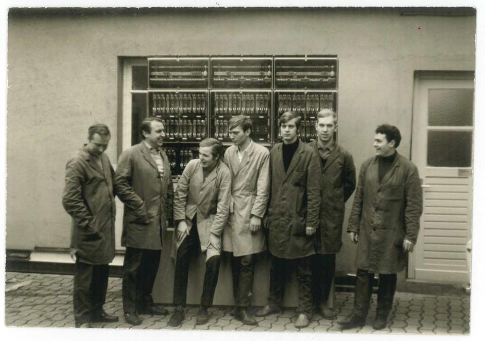 Isoblock Kommenderiestraße Unternehmensgründung 1966 Osnabrück Alfred Schmiemann