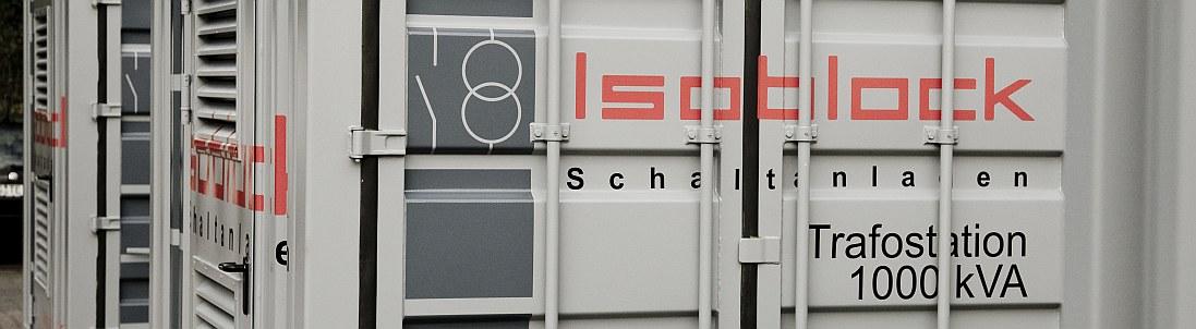 hier eine Miettrafostation Isoblock Schaltanlagen in Garmisch Parten Kirchen