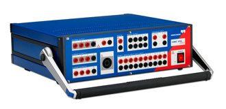 Messgerät Omicron-CMC-256plus-Isoblock-Schaltanlagen
