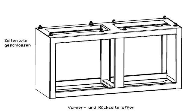 Erdsockel Erdstück für Festplatzverteiler der Firma Isoblock Schaltanlagen. Ausführung in Edelstahll.