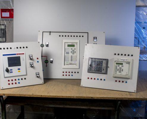 Testgeräte Netzschutzrelais AREVA Stucke Siemens