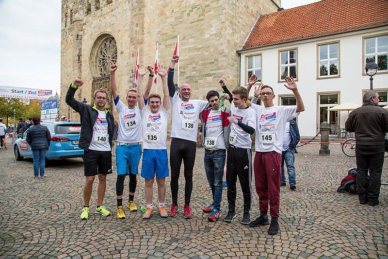 Osnabrücker Altstadtlauf - Handwerk bewegt - So auch Isoblock 2017