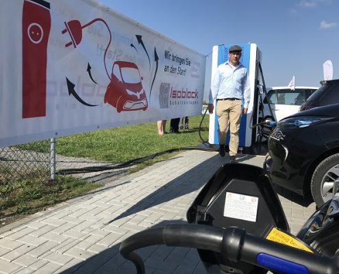 Isoblock Schnellladetechnik im Einsatz auf der E-Cross Germany 2017
