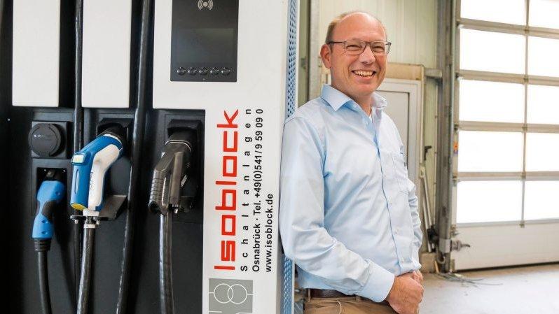 Isoblock - Wie eine Osnabrücker Firma sich auf den E-Auto-Boom einstellt