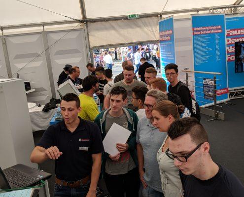 Isoblock in Kooperation mit der Elektro-Innung auf der Ausbildung49 in Osnabrück