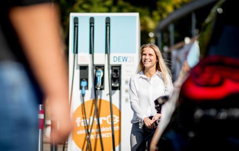 Ladesäule für Elektro-Fahrzeuge