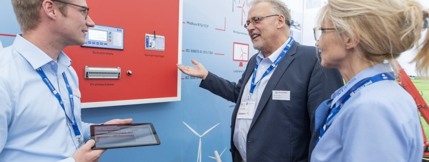 Isoblock präsentierte sein technisches Knowhow für die sichere und effiziente Verteilung von Windenergie auf der HUSUM Wind 2019.