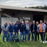"""Das """"SWIN""""golf Team der Isoblock Schaltanlagen"""